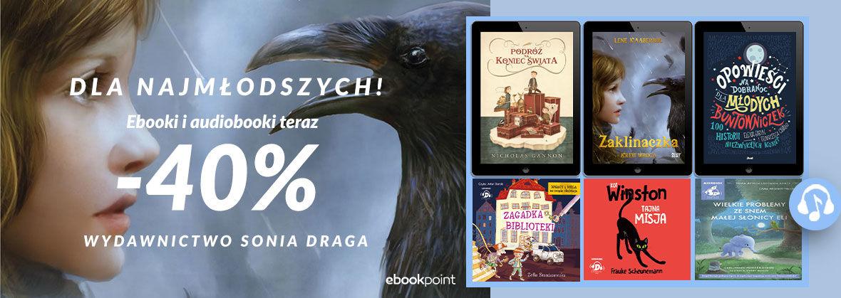 Promocja na ebooki Sonia Draga dla najmłodszych! [-40%]